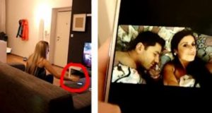 Snooping on Boyfriend's Phone Prank Viral Brothers