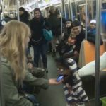 Ventriloquist Picking Up Girls On The Subway Part 1
